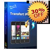 30% de réduction pour Transfert iPhone