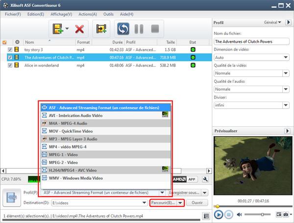 Xilisoft ASF Convertisseur