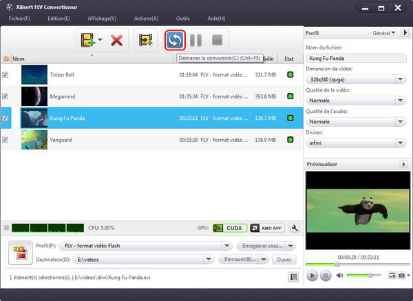 Xilisoft FLV Convertisseur