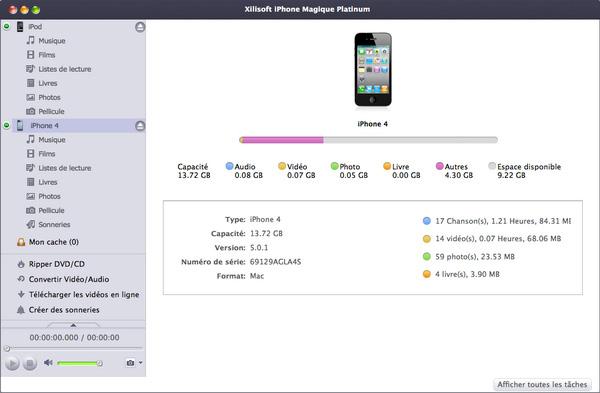 Xilisoft iPhone Magique pour Mac