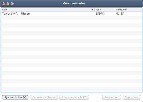Xilisoft Créateur Sonnerie iPhone pour Mac