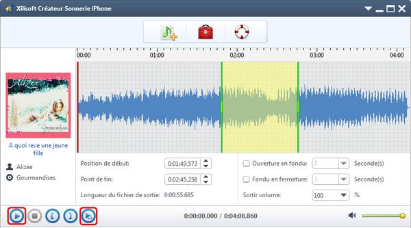 Xilisoft Créateur Sonnerie iPhone