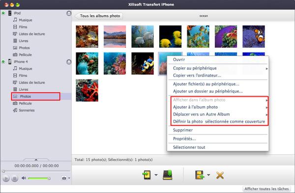 Xilisoft Transfert iPhone pour Mac