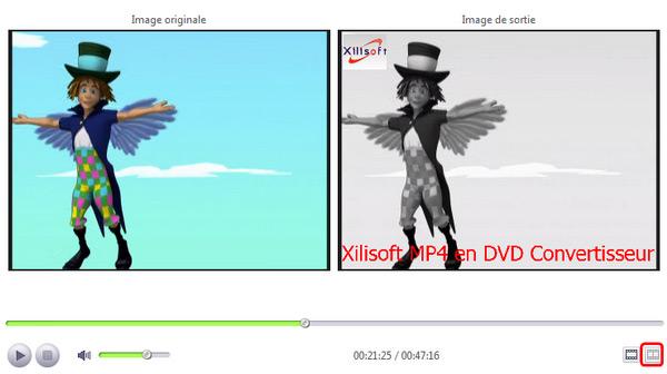 Xilisoft MP4 en DVD Convertisseur